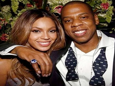 Beyonce and Jay Z. Twitter