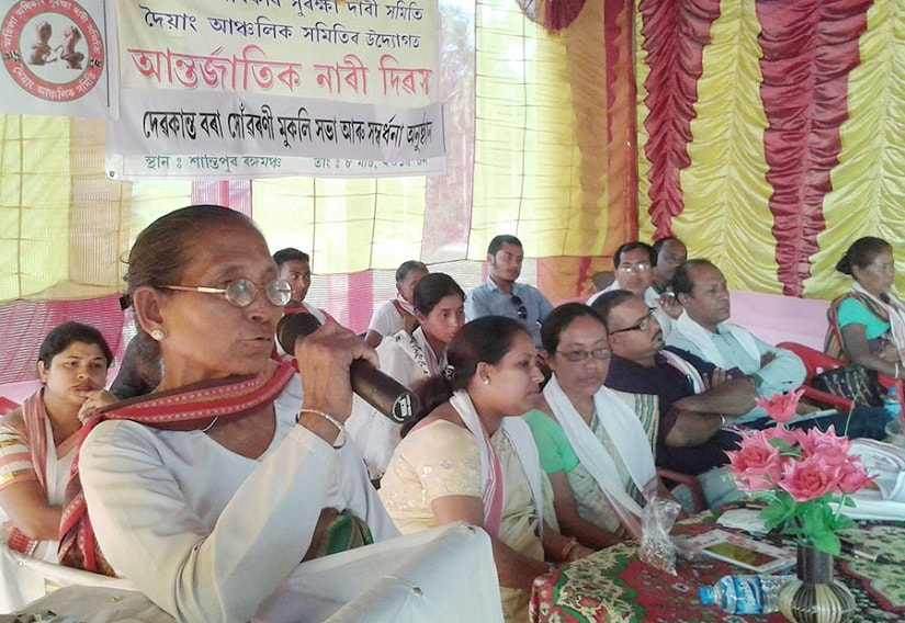 A meeting held by Mission Birubala