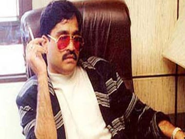A file image of gangster Dawood Ibrahim