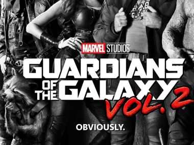 Movie poster for the Guardians of the Galaxy Vol. 2