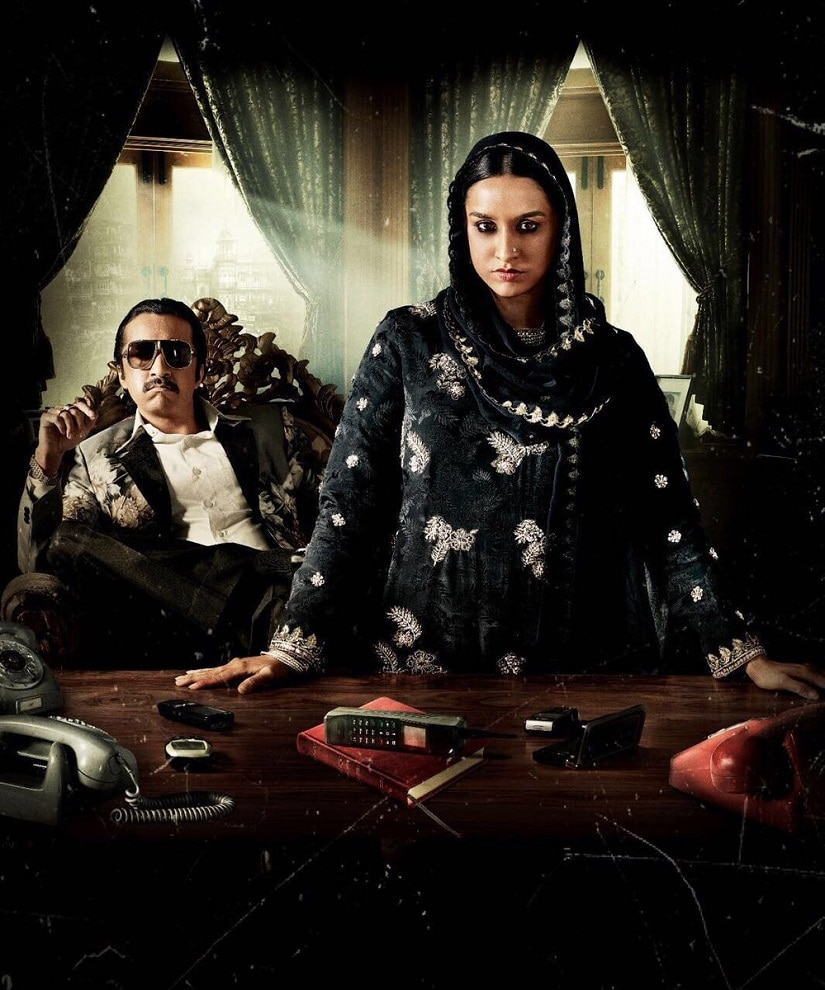 Shraddha Kapoor in the first look of 'Haseena'