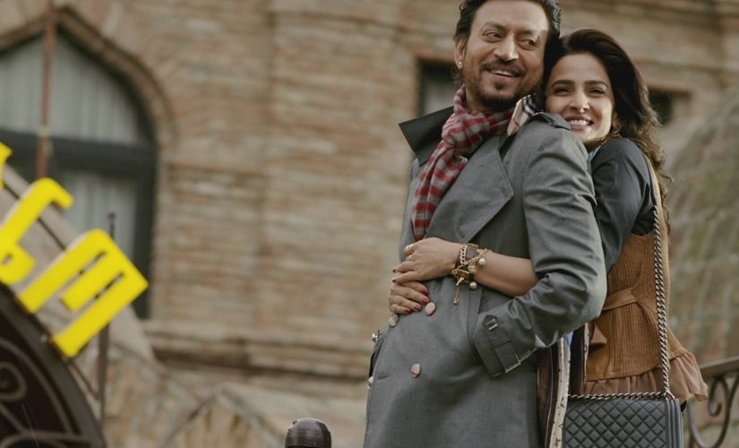 Irrfan Khan and Saba Qamar in a still from Hindi Medium. YouTube