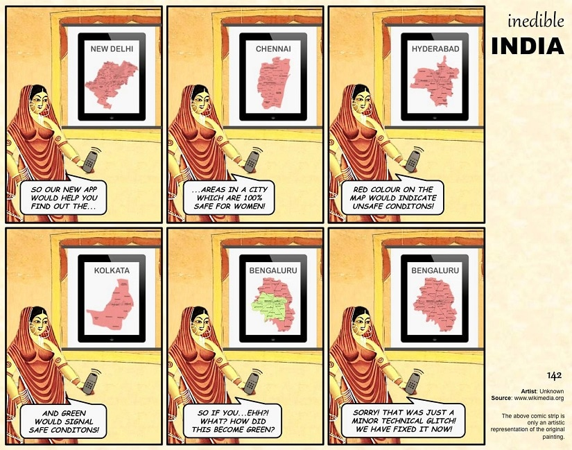 Inedible India. Image from Facebook