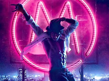 Tiger Shroff in the poster of Munna Michael. Twitter