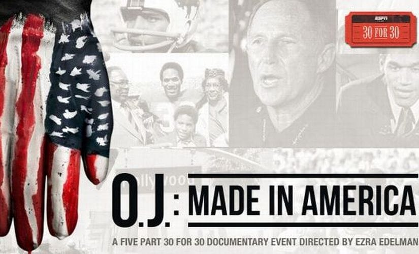 OJ: Made in America. Image courtesy: ESPN