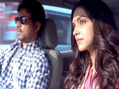 Irrfan Khan and Deepika Padukone in a still from Piku. News 18