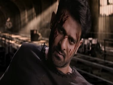 Prabhas in a still from Saaho. YouTube