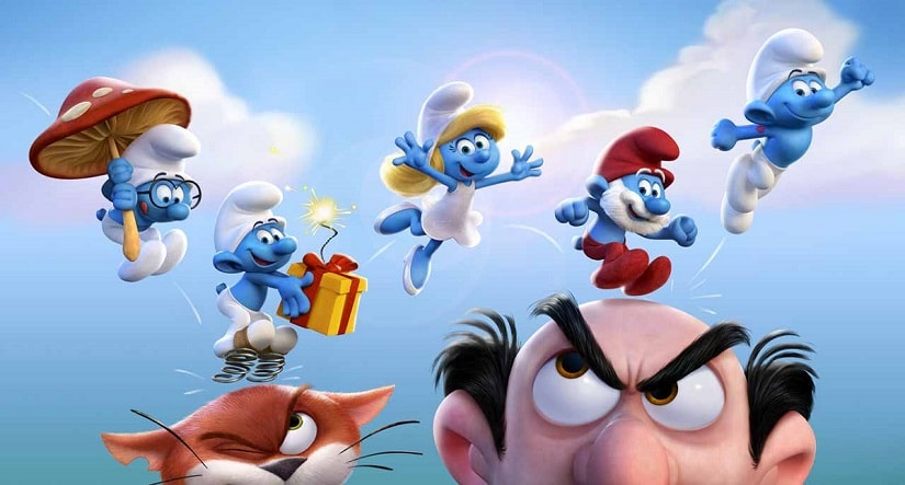Still from Smurfs: The Lost Village