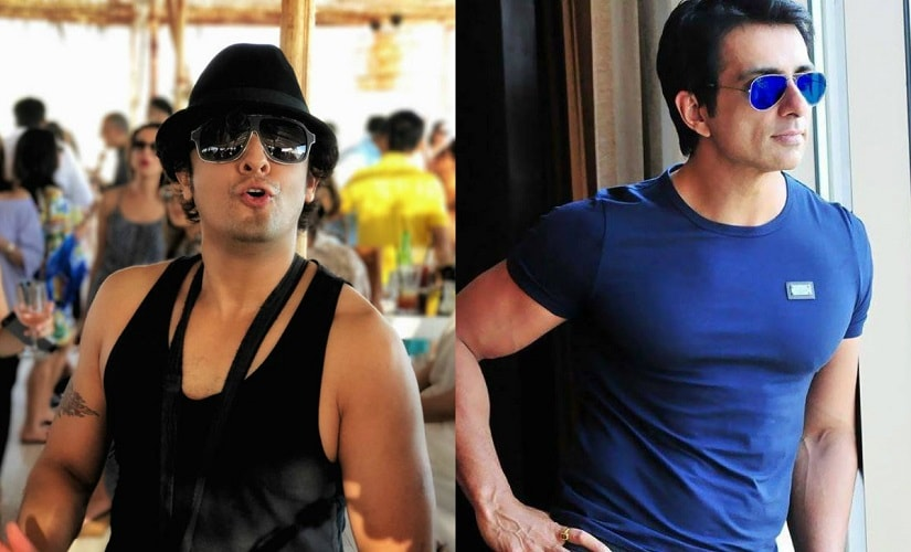 Sonu Nigam and Sonu Sood. Images from Facebook