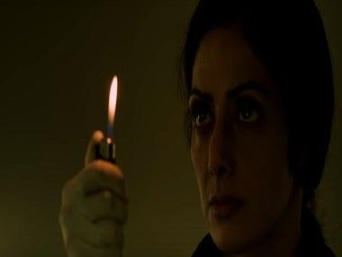 Sridevi in a still from MOM. YouTube