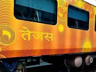 The Tejas Express. PTI