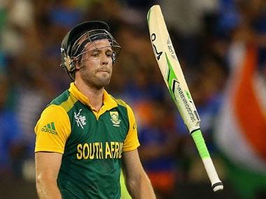 File image of South Africa batsman AB de Villiers. Getty images