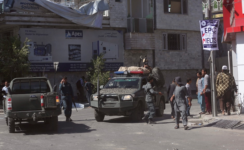 "The interior ministry, which put the number of wounded at 320, said a suicide bomber had detonated an explosives-packed vehicle in Zanbaq Square around 8:30 am. ""More than 50 vehicles were either destroyed or damaged,"" it said in a statement. AP"