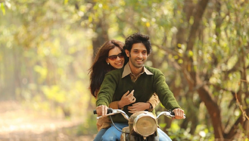 Kalki Koechlin and Vikrant Massey in a still from A Death In The Gunj. YouTube
