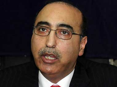 File image of Pakistan High Commissioner to India Abdul Basit. AFP