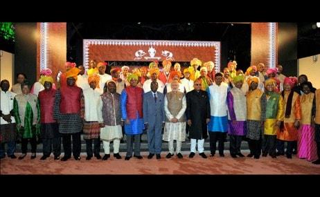 File image of 2015 India- Africa summit.