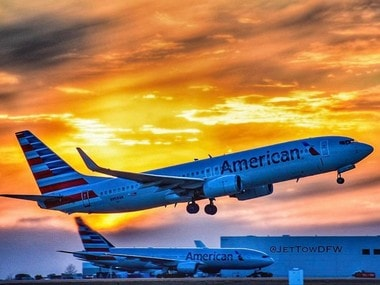 A file image of American Airlines. Image courtesy: @American Air