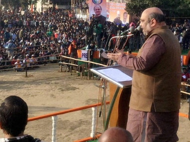 Amit Shah is on