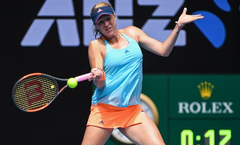 Anastasia Pavlyuchenkova has won two titles in 2017 and has improved tremendously under her new coach. AFP
