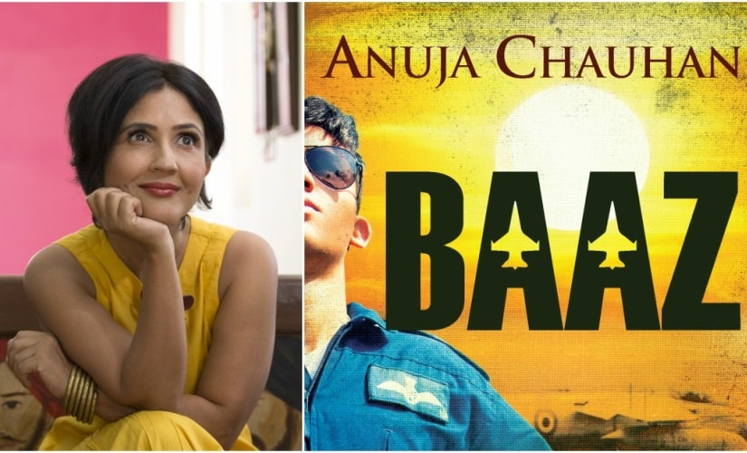 Anuja Chauhan and her latest book Baaz