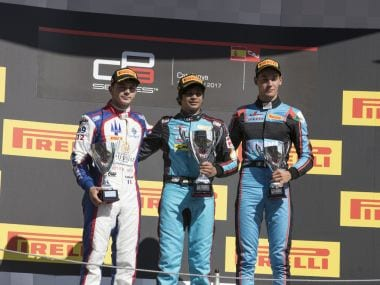 Arjun Maini became the first Indian to win the GP3 Series