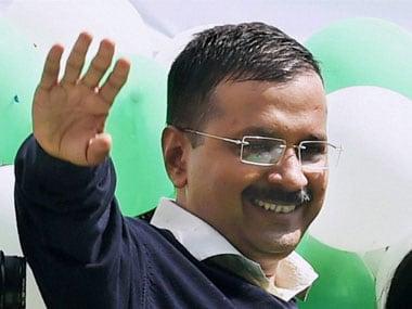 File image of Delhi chief minister Arvind Kejriwal. PTI
