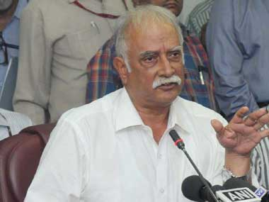 File image of Civil aviation minister Ashok Gajapathi Raju. Courtesy: PIB