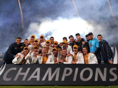 Australia thus, became the only team to successfully defend the Champions Trophy title. Getty Images