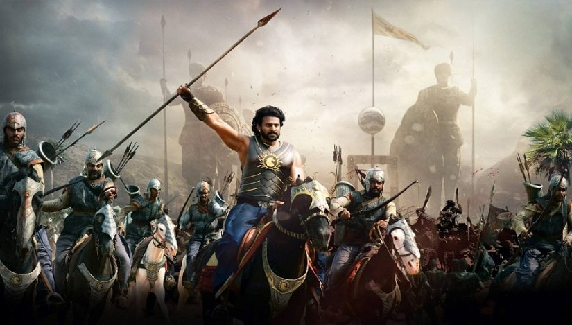 Prabhas in a still from Baahubali 2: The Conclusion/Bahubali 2
