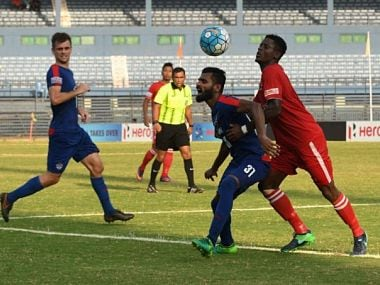 Bengaluru FC qualified to the Federation Cup final after beating Aizawl FC 1-0. Image credit: Twitter/@IndianFootball