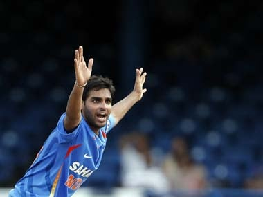 File image of Indian pacer Bhuvaneshwar Kumar. AP