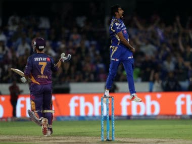 Jasprit Bumrah got the crucial wicket of MS Dhoni in the IPL 2017 final, showcasing his brilliant death-bowling skills in the process. Sportzpics