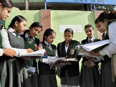 File image of CBSE students. PTI