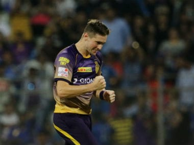 Kolkata Knight Riders pacer Chris Woakes lauds his experience in the IPL. Sportzpics
