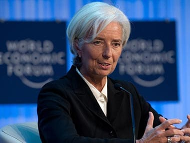 File image of IMF chief Christine Lagarde. AFP