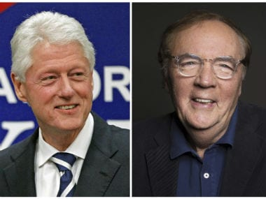 Bill Clinton (left) and James Patterson. AP