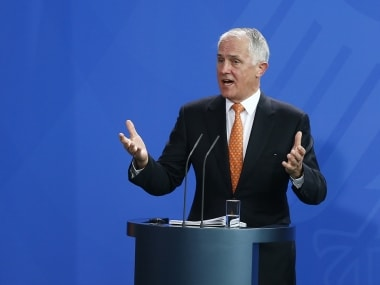 File image of Australian Prime Minister Malcolm Turnbull. Reuters