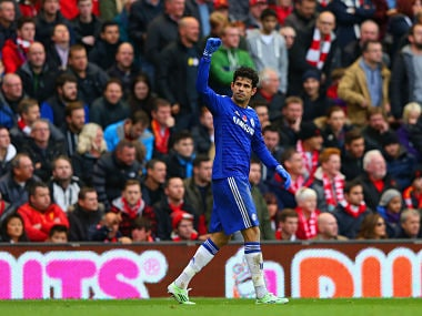 File image of Chelsea striker Diego Costa. Getty