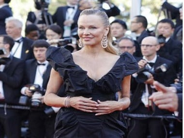 Cannes 2017: Pamela Anderson stuns in a never-seen-before avatar on red carpet