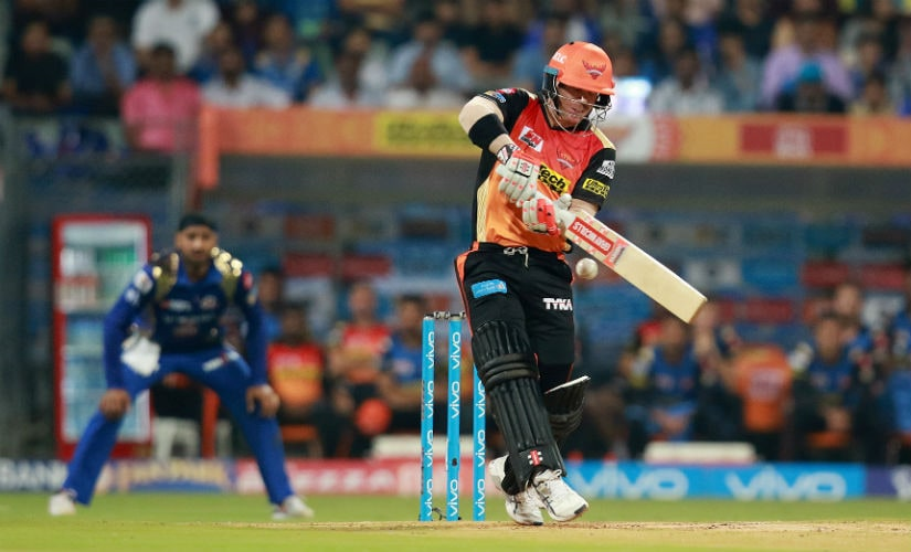 David Warner will be the focus of SRH's batting performance, especially since he is the Orange Cap holder at the moment. Sportzpics