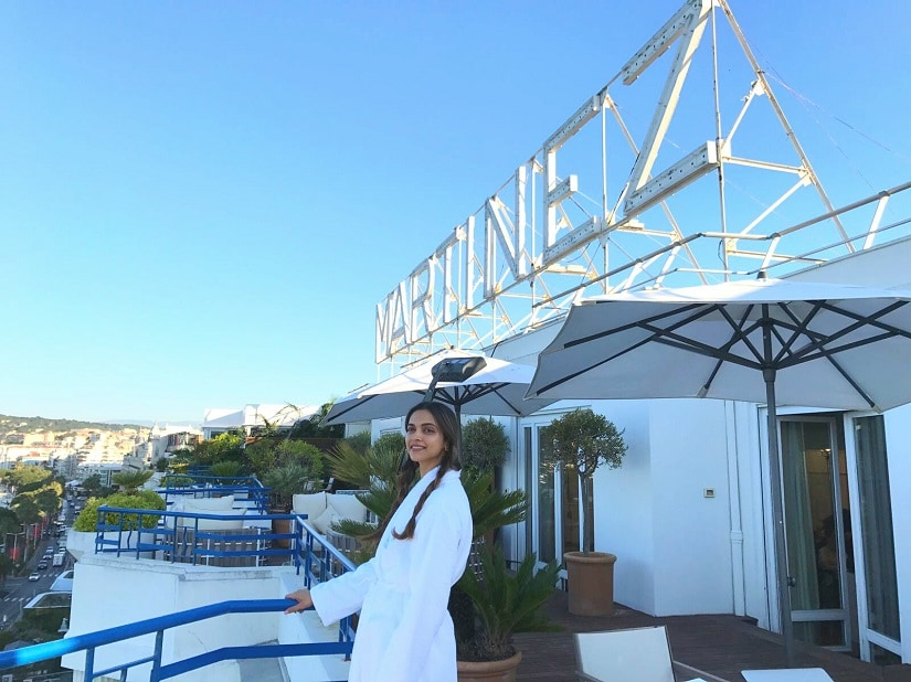 Deepika's first morning at Cannes (2) 825