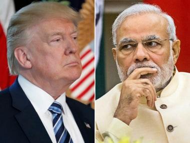 File images of Donald Trump and Narendra Modi