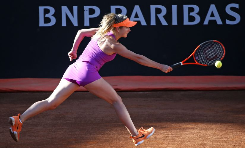 Elina Svitolina is enjoying the form of her life, with four titles and 31 match wins. Reuters