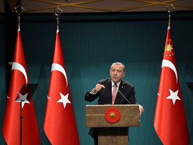 Turkey's President Recep Tayyip Erdogan had offered to have a multilateral dialogue to resolve the Kashmir issue. AP file image