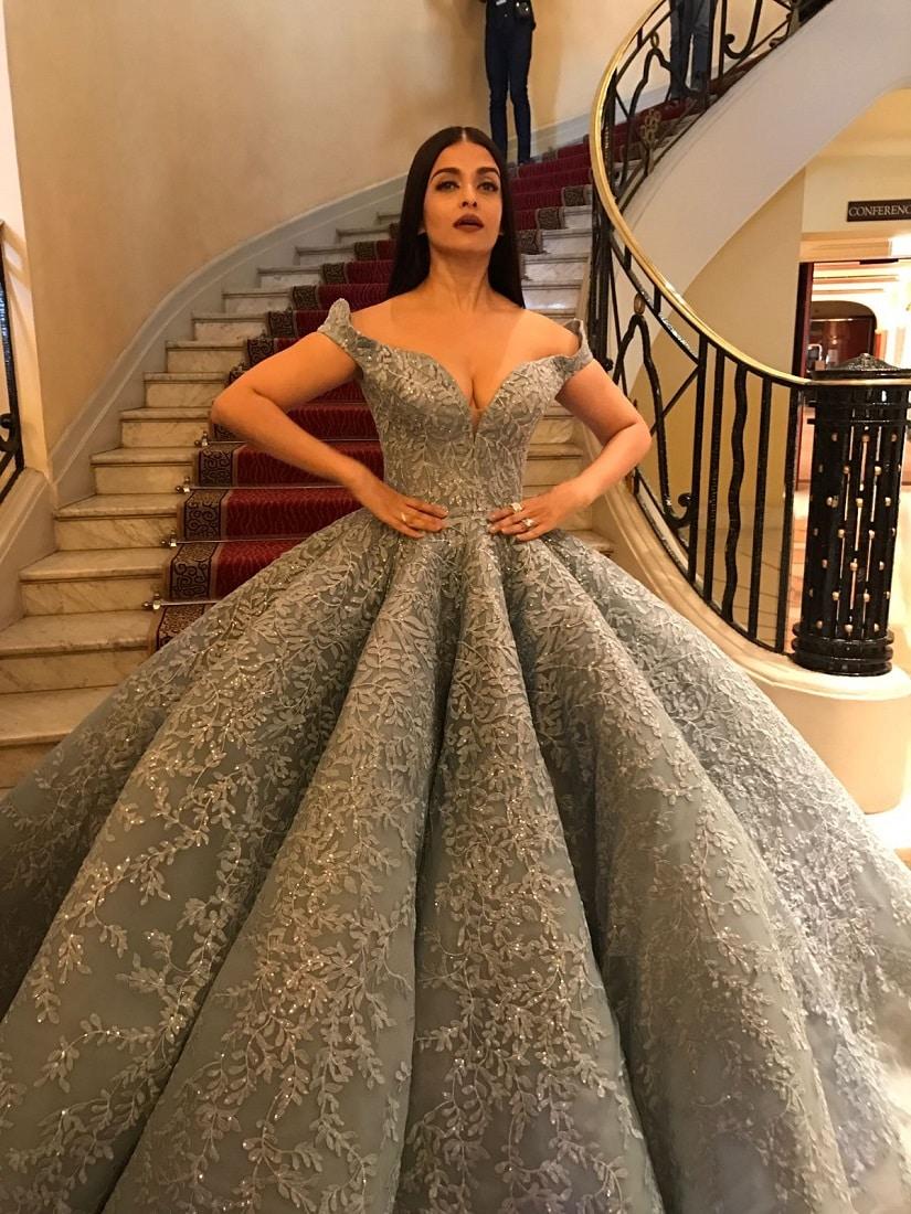 Cannes 2017 After Disney Princess Look Aishwarya Rai
