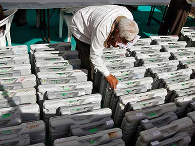 File images of EVMs. Reuters