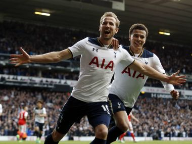 Tottenham will look to sign off from White Hart Lane in style. AP