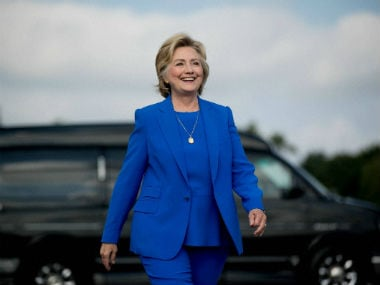 File image of 2016 US presidential candidate Hillary Clinton. AP