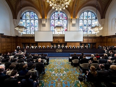A fie image of the International Court of Justice