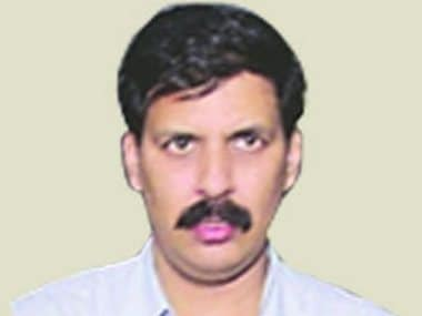 File image of IGP Rajnish Rai. Image courtesy: CRPF website